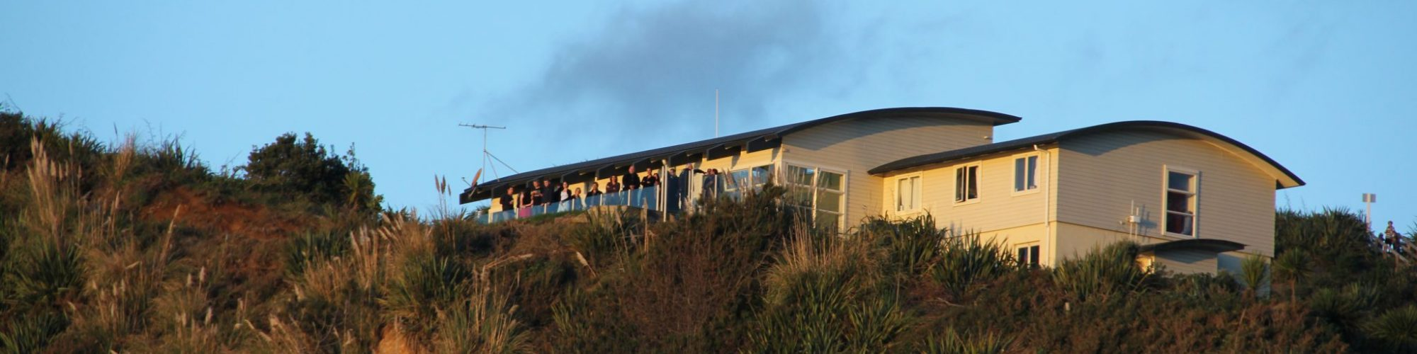 Clubhouse from beach